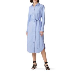 Rachel Roy Stripe long shirt dress small NWT